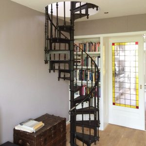 French antique model spiral staircase