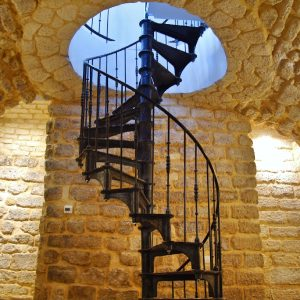Moscow spiral staircase
