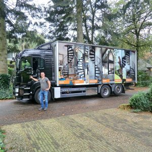 Levering trap