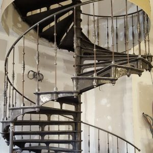 Spiral staircase Grand Paris
