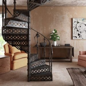 Cast iron spiral staircase Tours