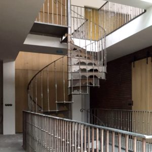 Double staircase Versailles in Almere, The Netherlands